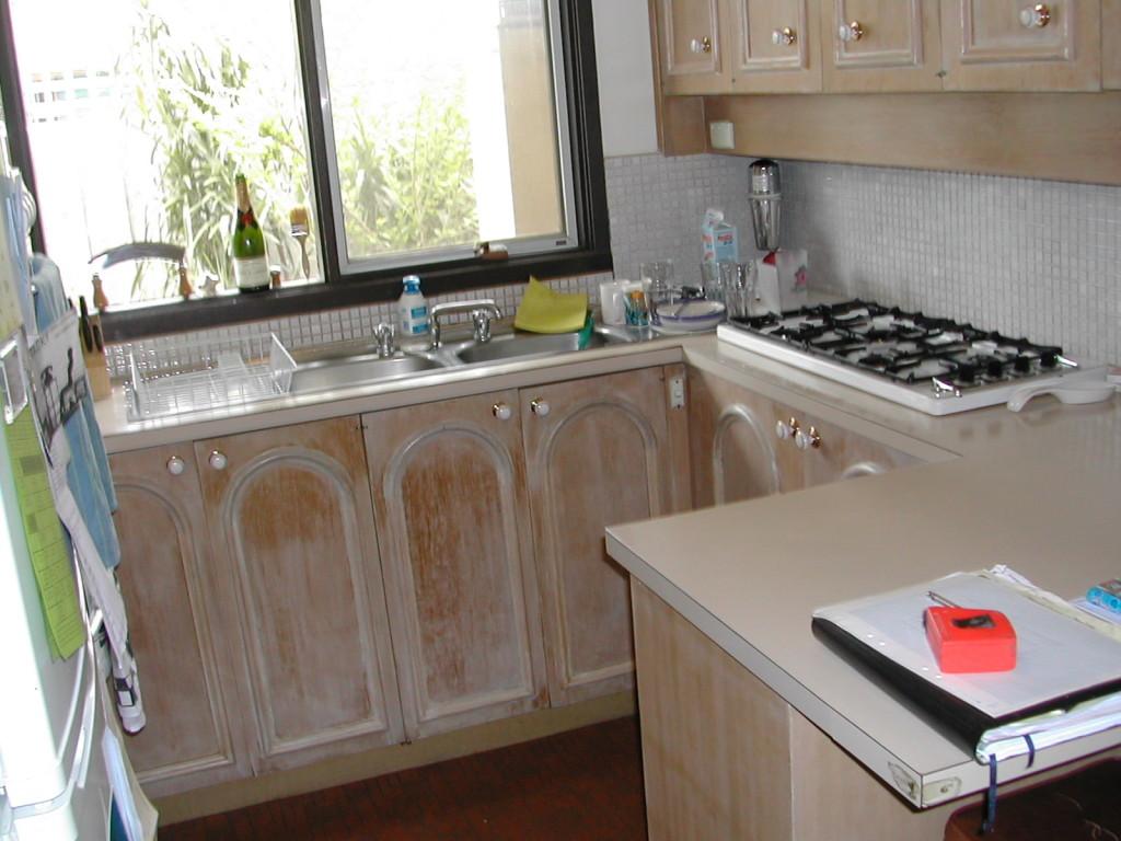 32 F kitchen before